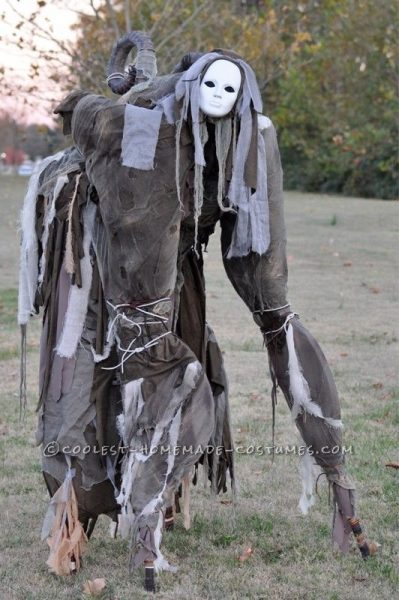 The Scary 4 legged walking... Thing Halloween Costume