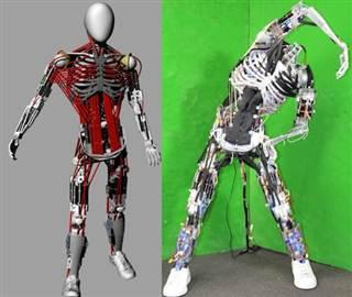 Kenshiro humanoid robot 6