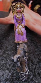 Princess Throne nail art design