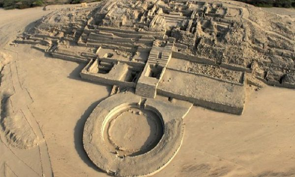 ancient sites in Peru Caral 600x360