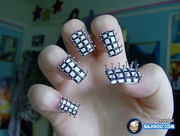 needle nail art design 600x452