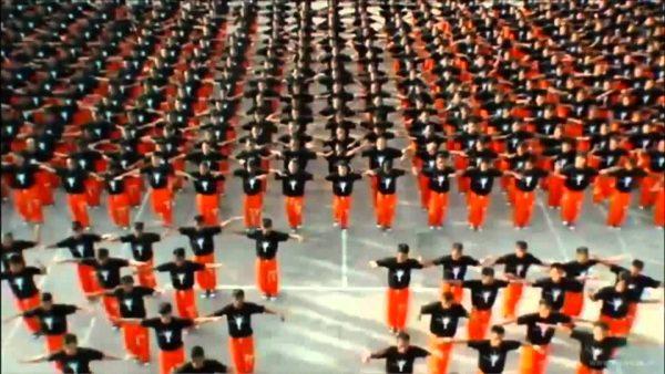 prison huge flash mob filipine michael jackson 600x338