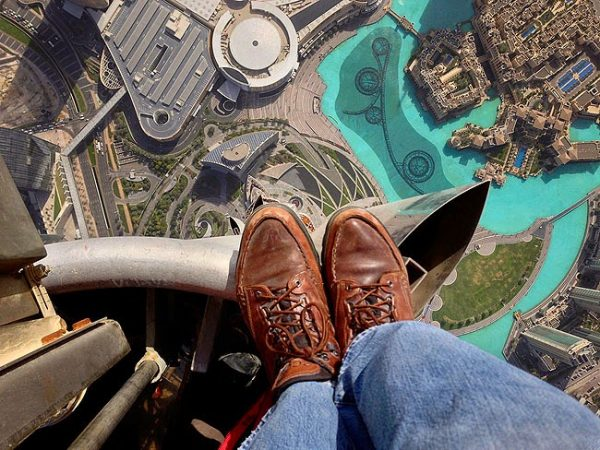 View from Top of Burj Khalifa Dubai 2013 600x450