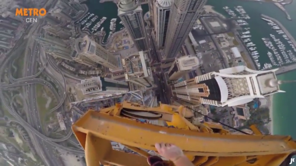 the marina 101 climbing the tallest buildinds in the world 600x337