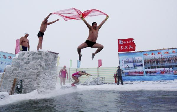 winter swimming pools in China 600x381