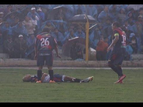 soccer player struck by lightning