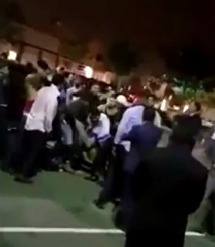 wedding brawl with over 70 men California