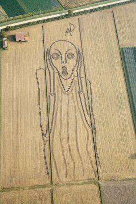 """""""Scream"""" painting"""