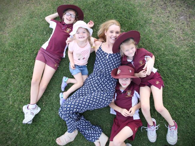 Rosie With Children